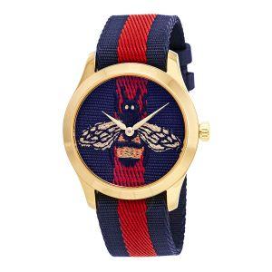 Gucci G-Timeless Le Marche des Merveilles Mặt Tròn Dây Dù YA1264061