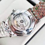 Raymond Weil Maestro Automatic Màu Bạc Mặt Vân Guilloche 2837-ST-00308