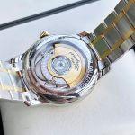 Longines Master Automatic Mặt Trắng Dây Demi Vàng 18K L2.628.5.12.7