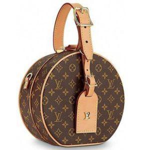 Louis Vuitton Petite Boite Chapeau Màu Nâu Size Small M43514